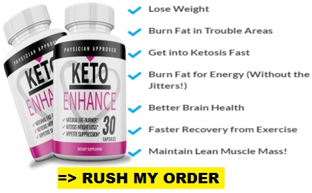 Keto Enhance order