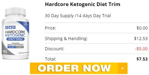 Hardcore Ketogenic Diet Trim Trial Offer