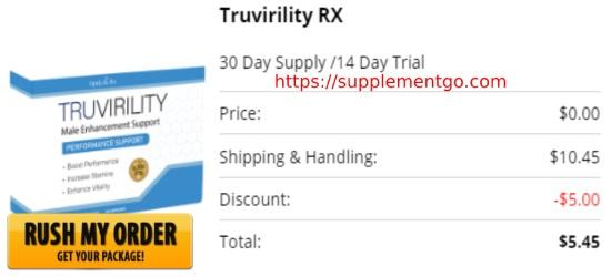 Truvirility Male Enhancement Order