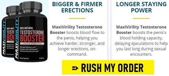 MaxiVirility Testosterone Booster